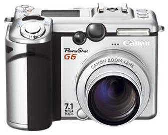 PowerShot G6 review