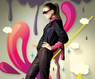 Add vector flair to model shots