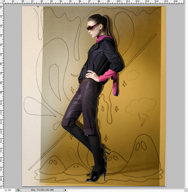 how to add a border to a photo in illustrator