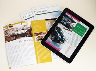 Take a design from print to iPad