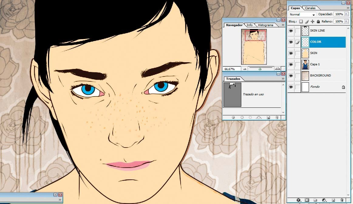 Photoshop Tutorial Create Vector Portraits In Photoshop