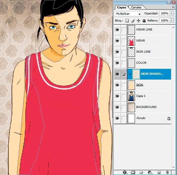 how to create vector in photoshop