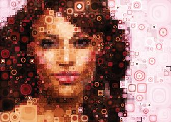 Design amazing mosaic effects