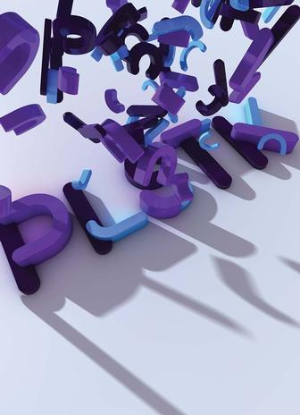 Create a fluid plastic type animation