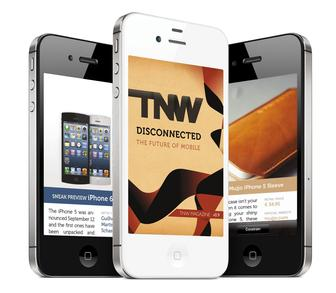 Design a beautiful mobile magazine for the iPhone