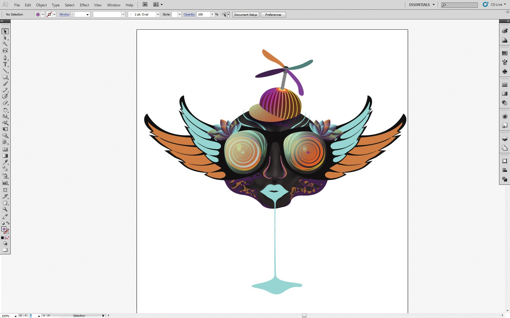 Character Design Tutorial Step By Step : Adobe illustrator photoshop tutorial use gradients to