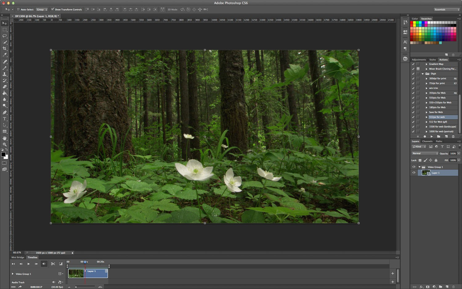 Photoshop tutorial: Add a blur to a video using Photoshop ...