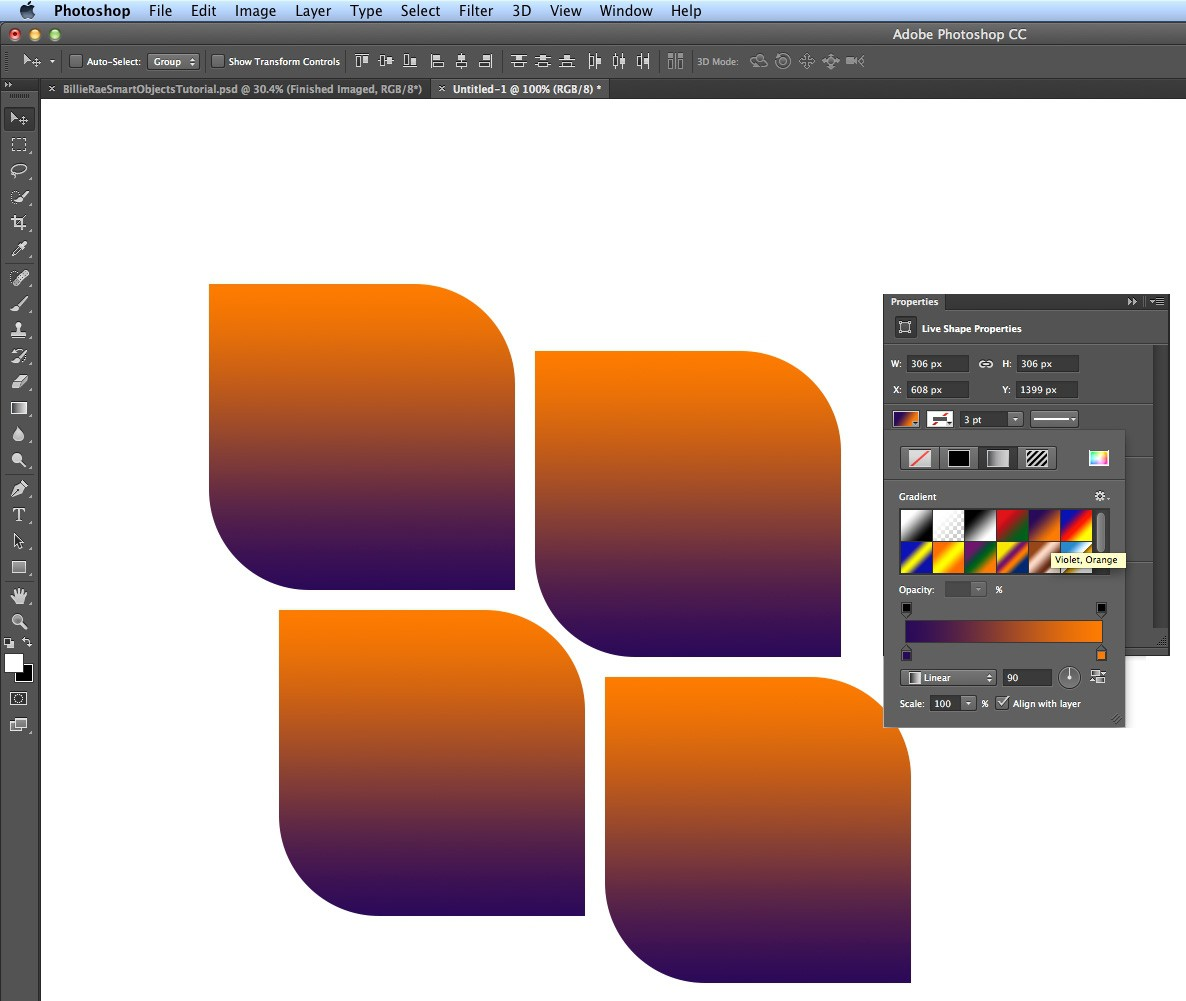 Photoshop tutorial: How to use Photoshop CC's new shapes ...