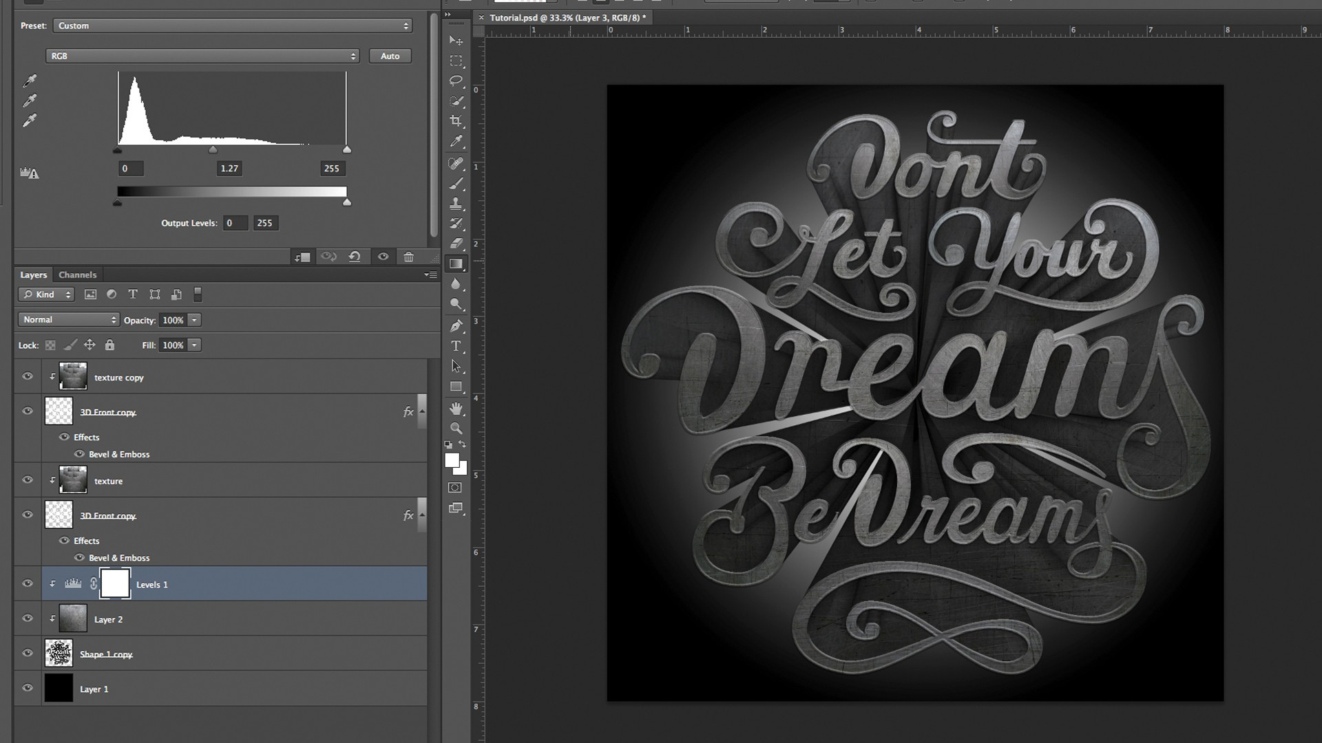 photoshop  u0026 maxon cinema 4d tutorial  learn the best ways to create 3d type