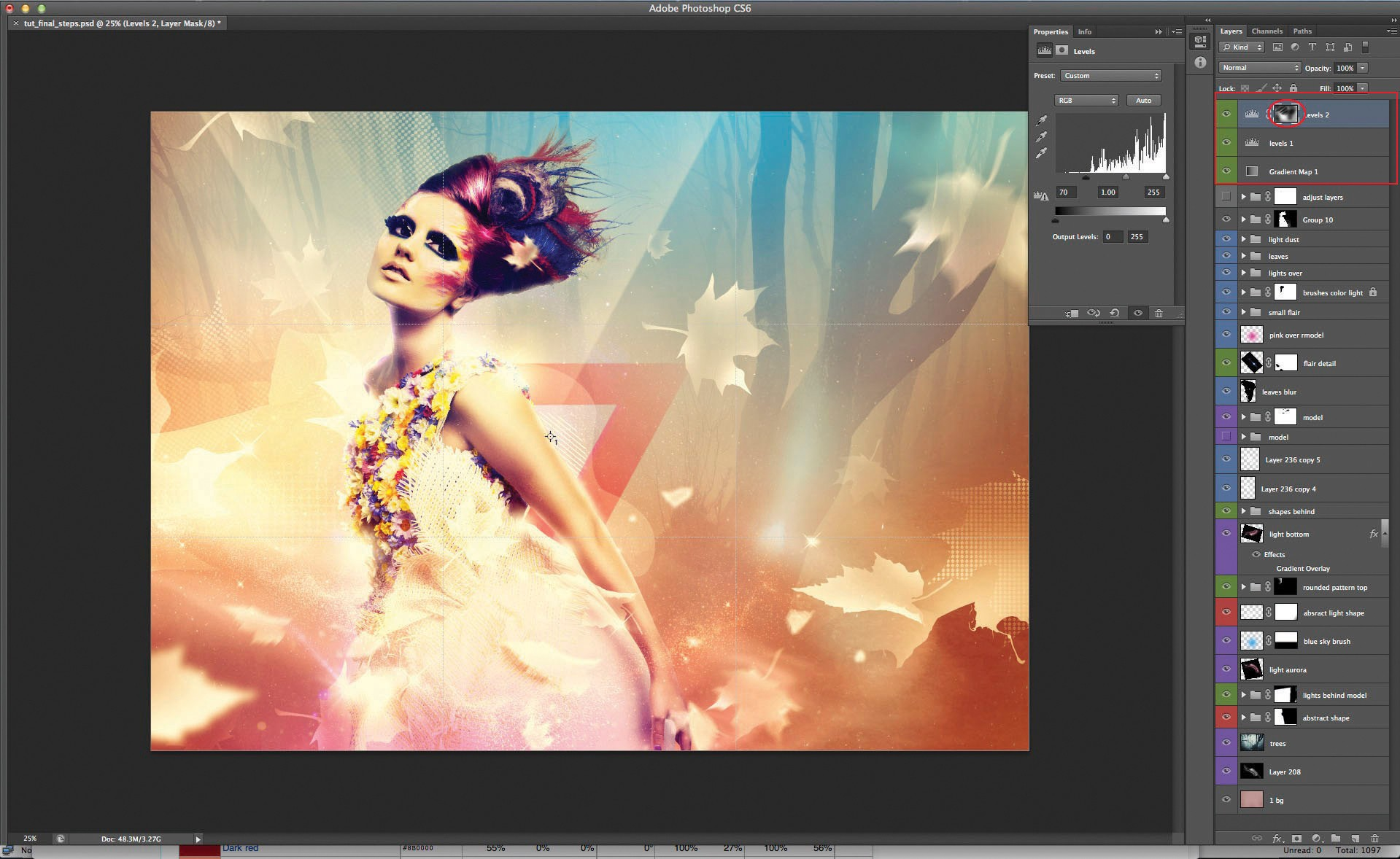 how to create a light source in photoshop