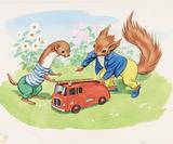 Tufty returns as vintage road safety posters go on sale