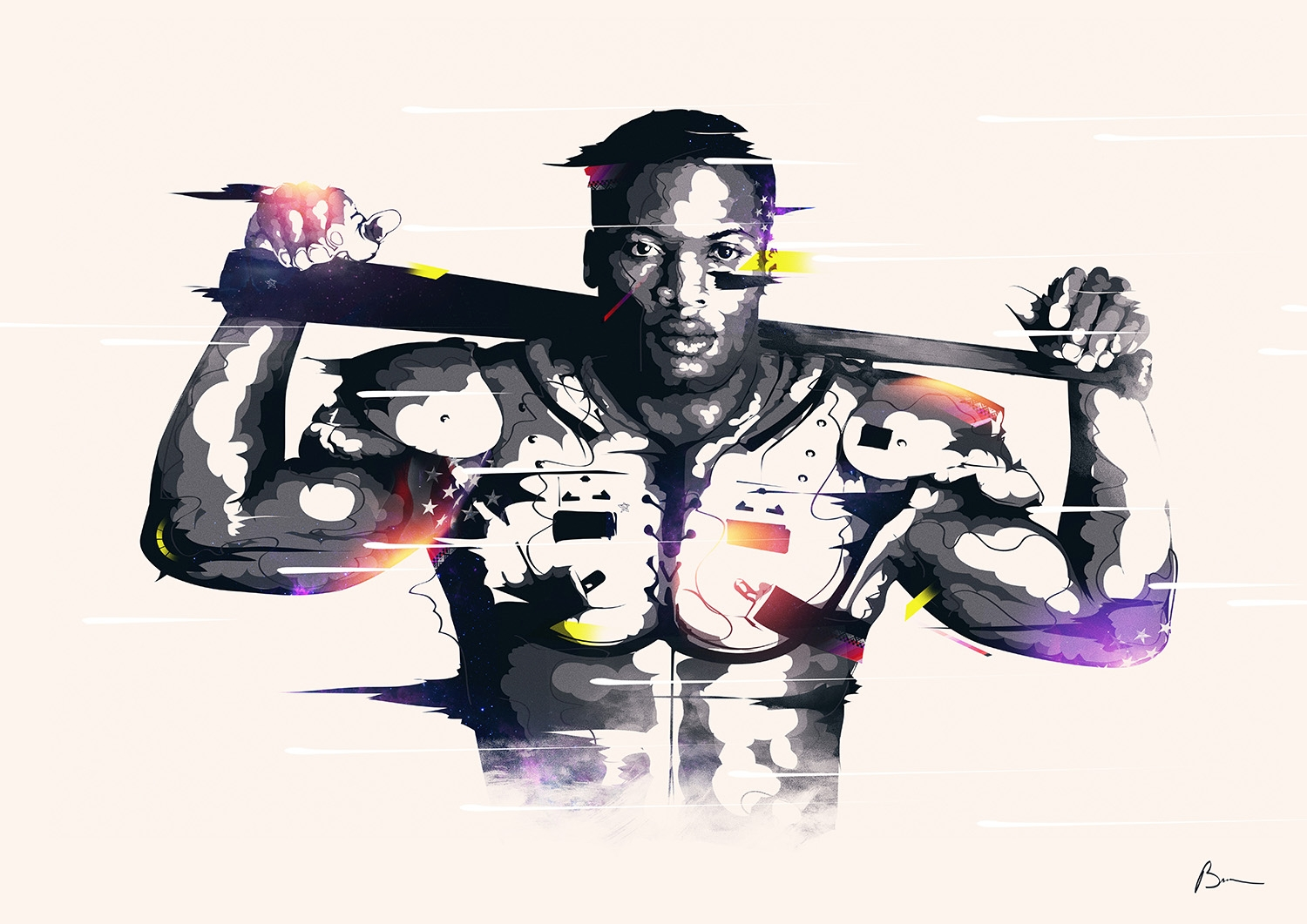heroes of sport design celebrated by daily portrait