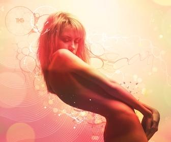 Turn a photo into a euphoric sensual artwork