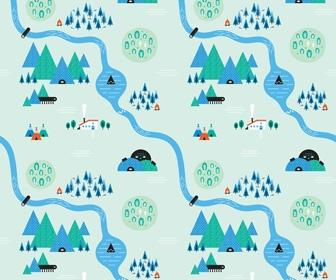 Create quirky repeating patterns