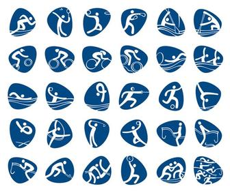 Rio 2016 Olympic & Paralympic pictograms unveiled