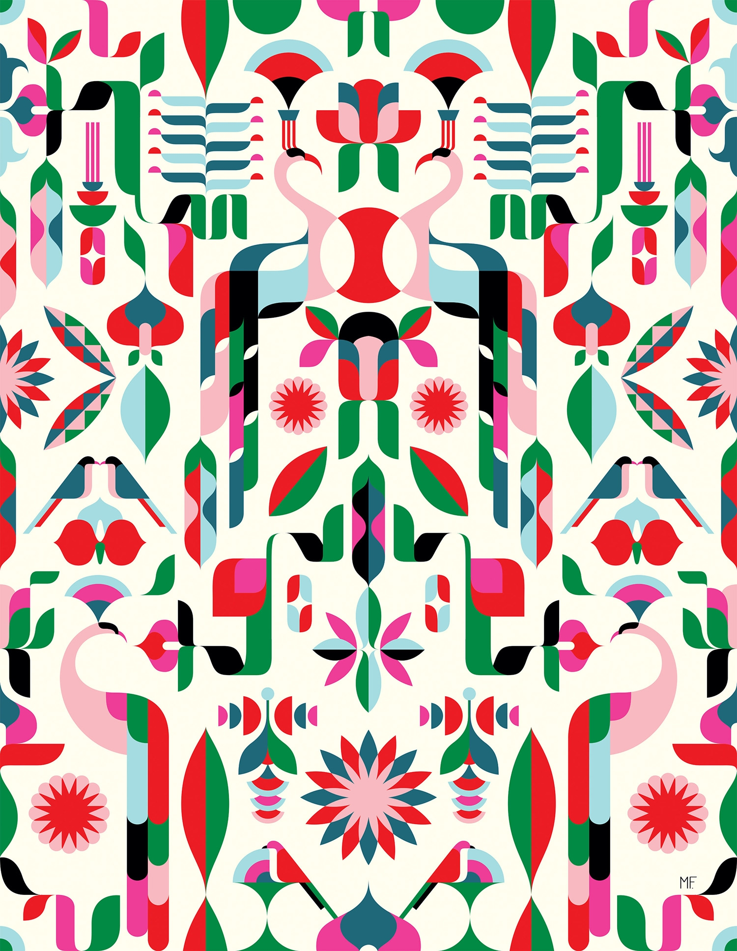Illustrators design bold patterns for Heal's first modern ...