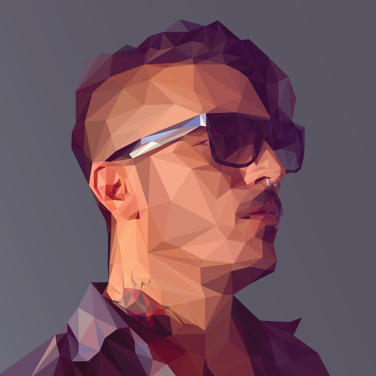 Favorit Create a low-poly portrait - Digital Arts BN82