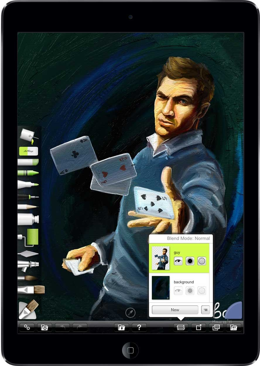 You can buy ArtRage for $4.99 from the iOS App Store.
