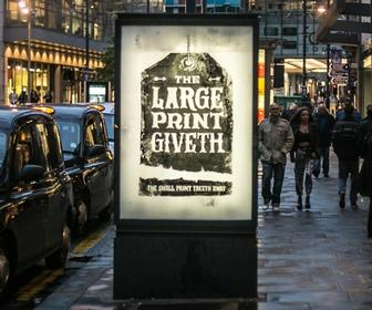 Anti-advertising campaign replaces 360 ads with art in 10 UK cities