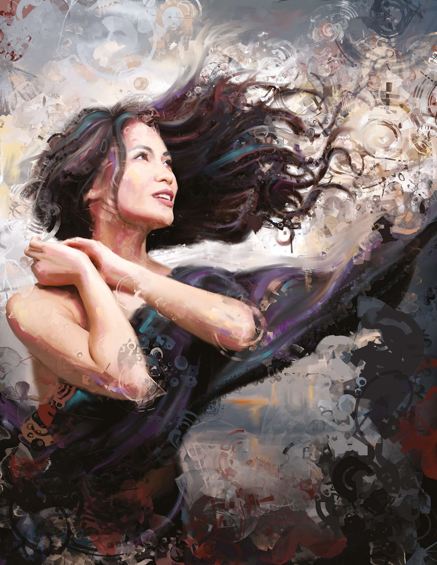 Painter tutorial: Paint a stunning digital portrait from a photo ...