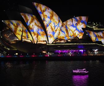 Interactive light show across Sydney Harbour is the highlight of this year's Vivid festival