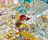 Rod Hunt's ultra-detailed artworks for IKEA Russia