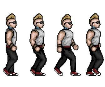 Turn a photo into a 16-bit arcade game character
