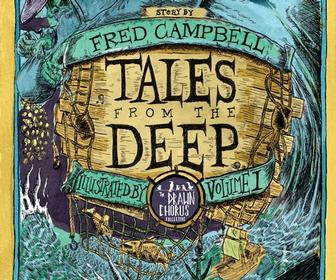 Tales From the Deep graphic novel anthology draws on 20 illustrators' talents