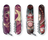 These Victorinox Swiss Army Knives feature custom artworks