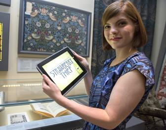 William Morris fabric inspires free iPad app by the V&A's in-house game designer