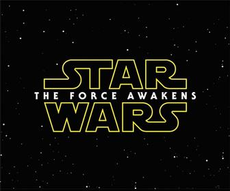 What's the font in the Star Wars: The Force Awakens logo?