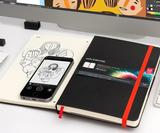 Adobe Creative Cloud-connected Moleskine ready for iPhone illustrators