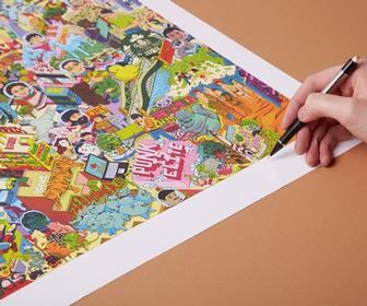 Now in colour - vibrant new look for Web's largest crowdsourced artwork
