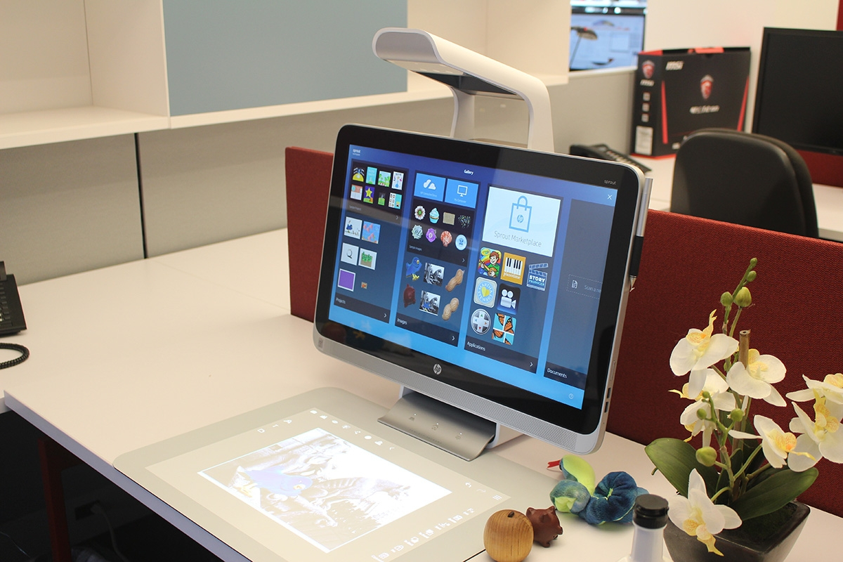 Hp Sprout Hands On Review We Draw Scan 3d Objects And