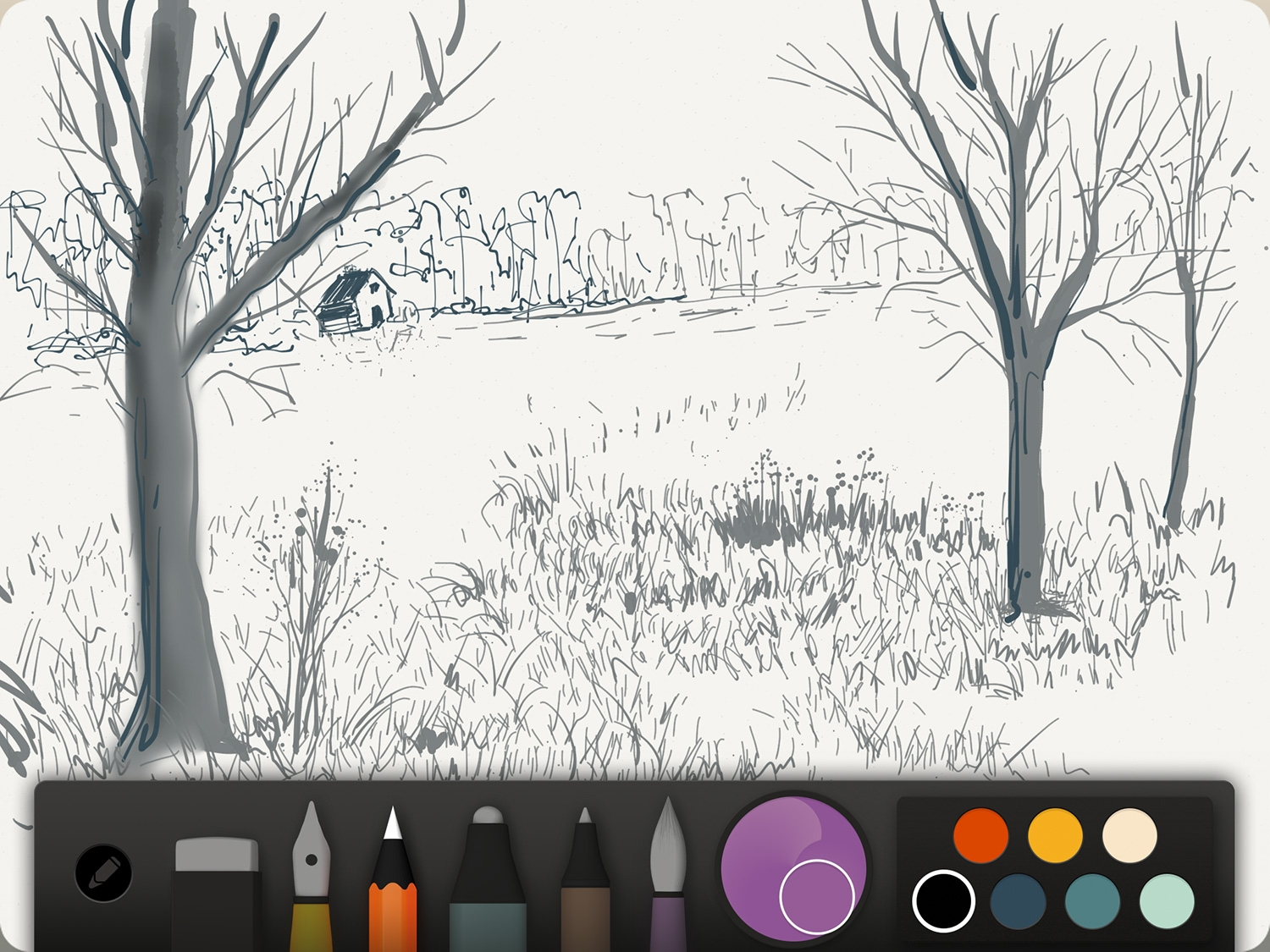 The fifty three paper ipad drawing app is now completely for Online drawing app