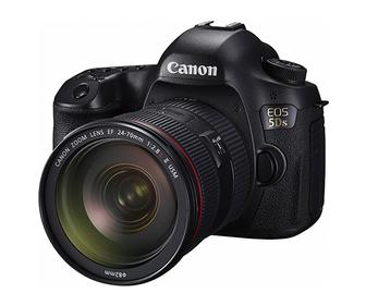 Canon's 5DS SLR camera has a monster 50.6-megapixel image sensor