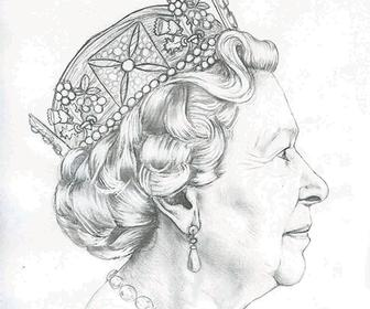The new Queen's head: a redrawn portrait for British coins has been announced