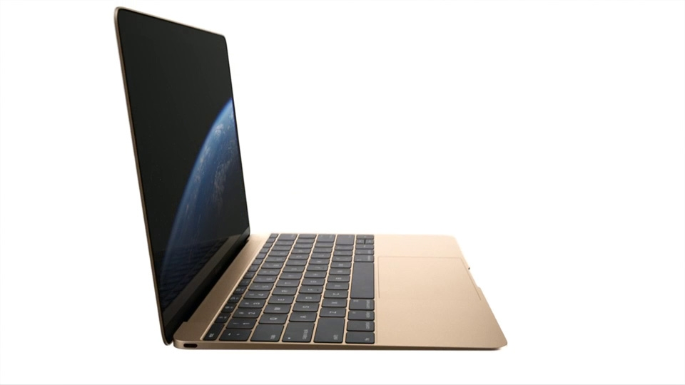 Apple Redesigns The Macbook To Be Much Thinner And Lighter