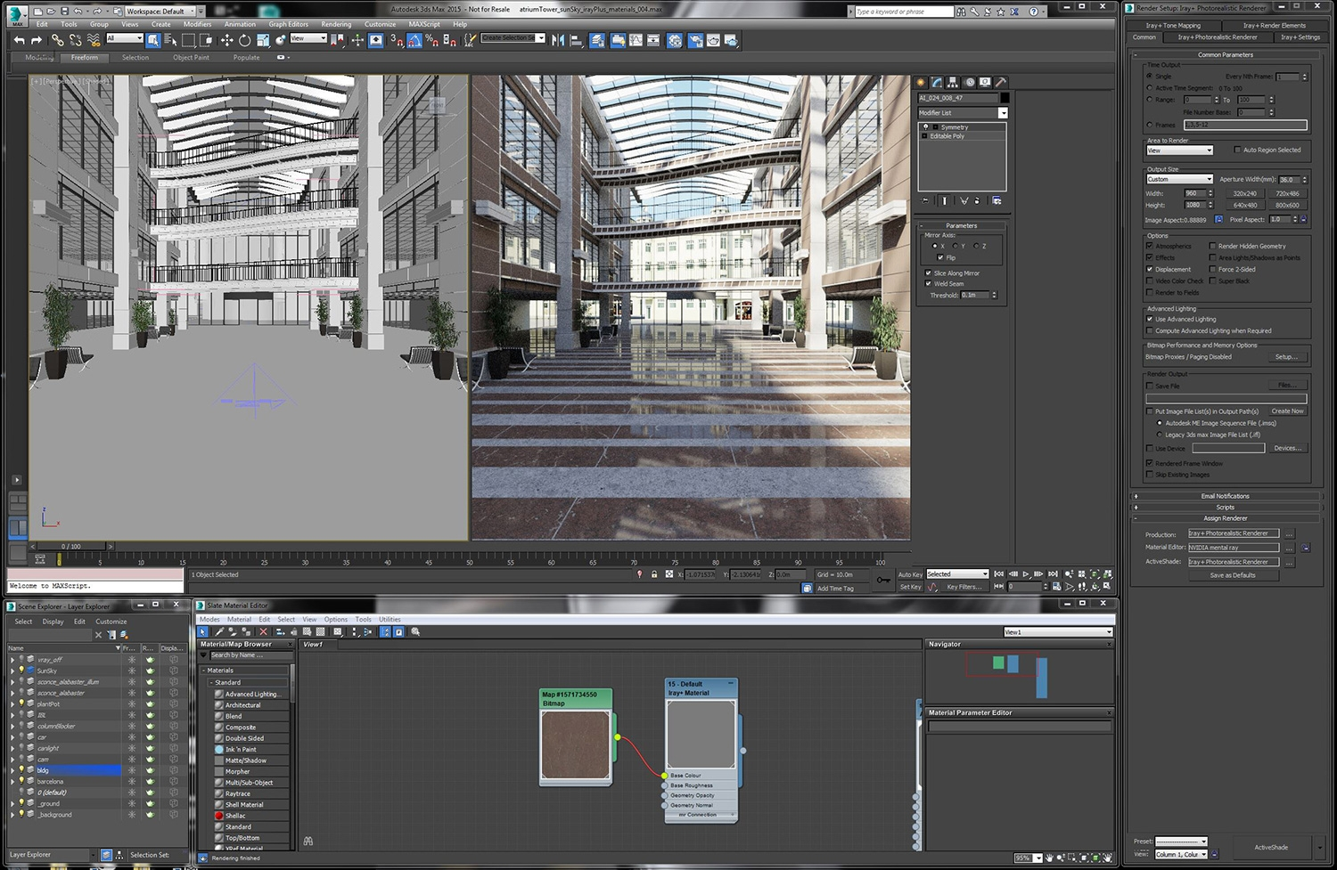 Nvidia Launches Iray Interactive Rendering Plug Ins For