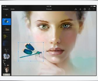 Pixelmator 1.1 Aquarelle brings watercolour painting to the iPad app