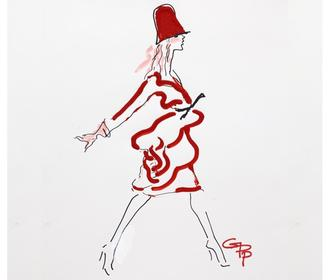 These stylish artworks are by some of the worlds leading fashion illustrators (and you can buy them)