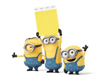 Pantone Minion Yellow: Pantone's latest colour is rather despicable