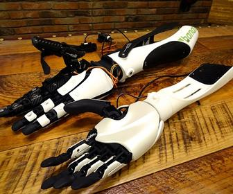 3D-printed prosthetic limbs promise to make them cheaper for the disabled