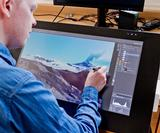 Wacom Cintiq 27QHD: How MPC's Gerard Dunleavy creates artwork for the likes of Honda and Virgin Atlantic