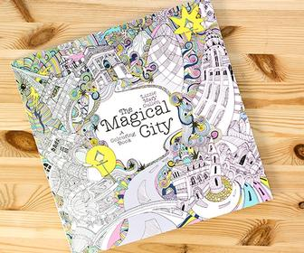 How Lizzie Cullen created an urban-themed colouring-in book for Penguin