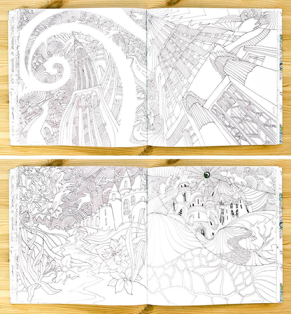 Th the magical city colouring in book -  Of The Magical City But I Think It S About Being Able To Switch Between Projects And Being Able To Immerse Myself Fully In Whatever Is In On The Desk