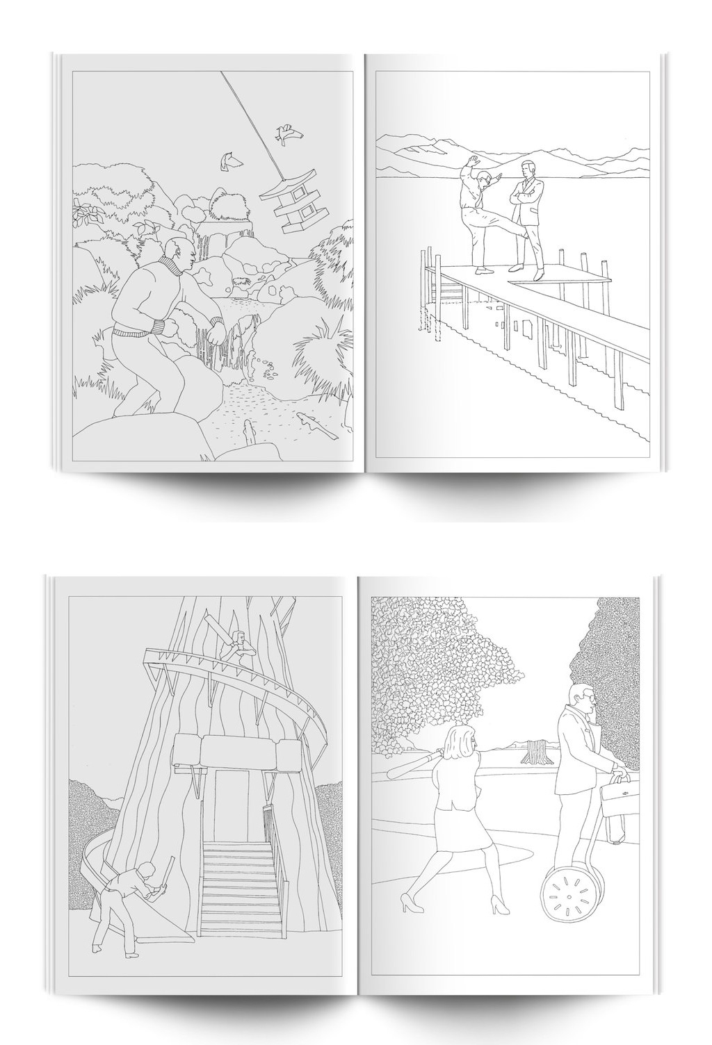 buy the mindless violence colouring book or any others for 1099 from amazon or modern toss - Colouring Pictures Of