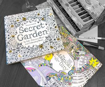 5 best adult colouring books