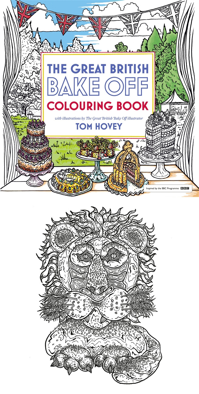 buy the great british bake off colouring book for only 798 from the book depository - Colouring In Book
