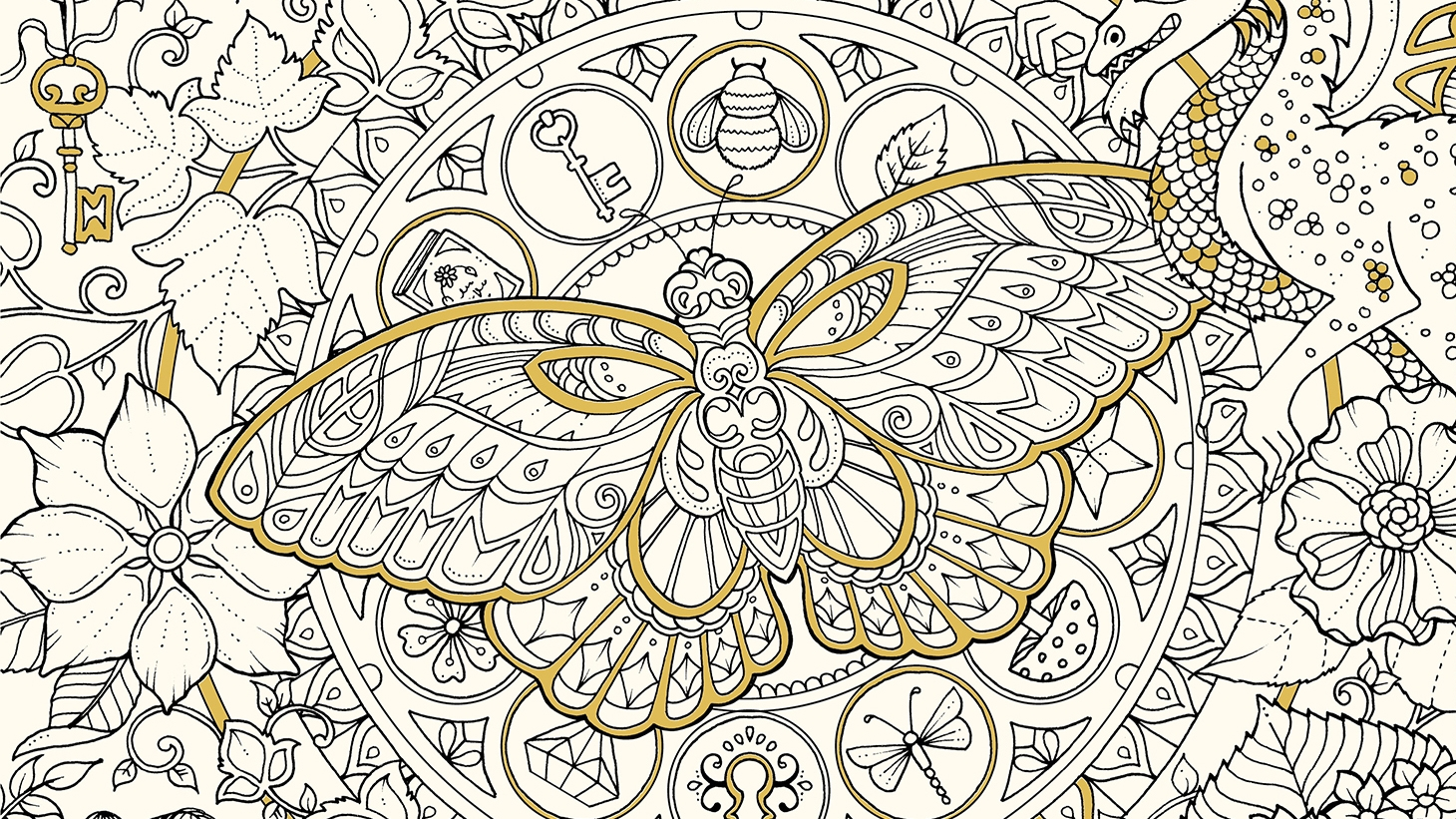 18 best colouring in books for adults digital arts Best colouring books for adults 2018
